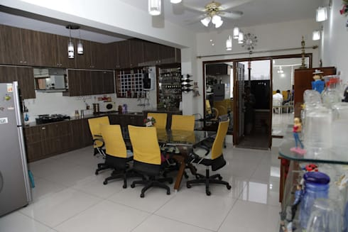 Dining Table Designs Online: asian Dining room by Scale Inch Pvt. Ltd.