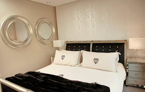 Melrose Arch apartment: modern Bedroom by Casarredo