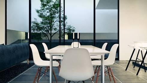 Comedor: Comedores de estilo moderno por Jaime Quintero Diseño