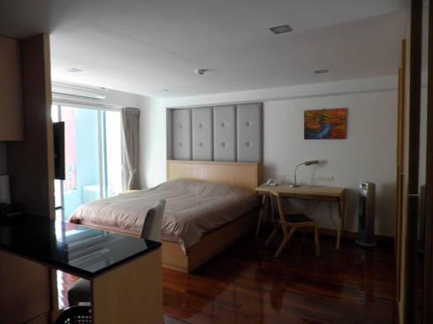 ห้องพัก:  ห้องนอน by SDofA Architect