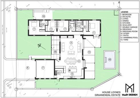 House Loynes - Graanendal Estate:   by ModH Design