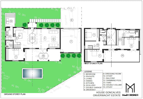 Floor Plan:   by ModH Design