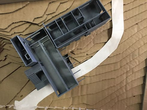 3d print of a house:   by A4AC Architects