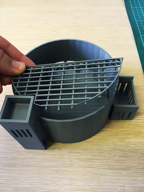 Building component 3d print:   by A4AC Architects