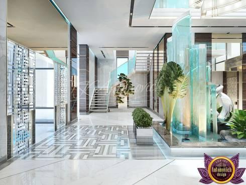   New look at luxury and comfort of Katrina Antonovich:  Corridor & hallway by Luxury Antonovich Design