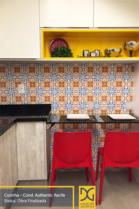 Cozinha: Cozinhas modernas por Estúdio DG Arquitetura