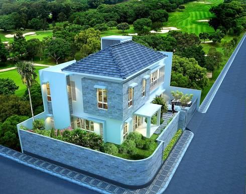 Bird Eye View :   by Evolver Architects