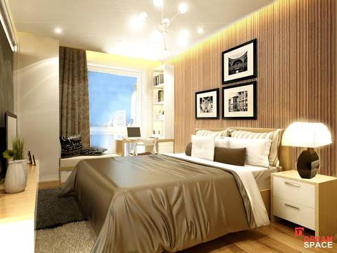Thiết kế thi công căn hộ chung cư Time City. Hà Nội:   by Công ty TNHH Thiết kế và Thi công Dream Space