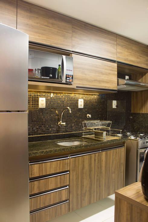 Projekty,  Kuchnia zaprojektowane przez Studio MAR Arquitetura e Urbanismo