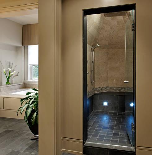 Master Ensuite Shower:  Bathroom by Douglas Design Studio