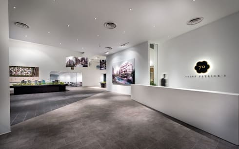 UOL Fractal Gallery:  Exhibition centres by MinistryofDesign