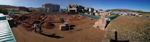 Construction of foundations under way with the walls following shortly.:   by Seven Stars Developments