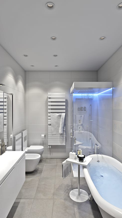 Bathroom: modern Bathroom by Hampstead Design Hub