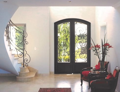 Puertas de entrada de del hierro design homify for Puertas de entrada de hierro
