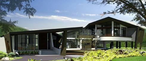 House @ ปากช่อง:  บ้านและที่อยู่อาศัย by SDofA Architect