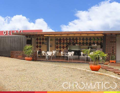 Gelati - Heladería : Espacios comerciales de estilo  por Chromatico Arquitectura