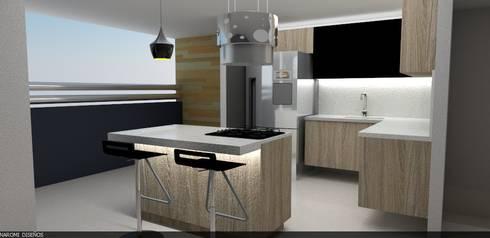 cocina :  de estilo  por Naromi  Design