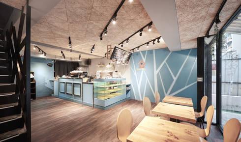 選材的巧思。:  餐廳 by 有偶設計 YOO Design