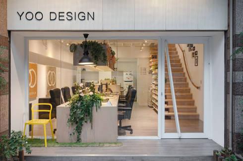貼近生活和自然的純粹設計。:  辦公室&店面 by 有偶設計 YOO Design