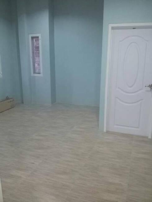 สร้างบ้านตามแบบที่เจ้าของบ้านดีไซด์เอง(แบบสะดวกต่อการใช้สอย).:   by Bank Construction