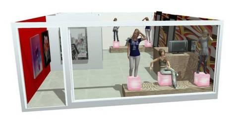 VITRINISMO Y ARTE COMERCIAL EN 3D:  de estilo  por DISEÑO Y DECORACIÓN DE ESPACIOS INTERIORES