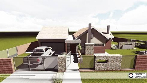 House Viljoen: modern Houses by Property Commerce Architects
