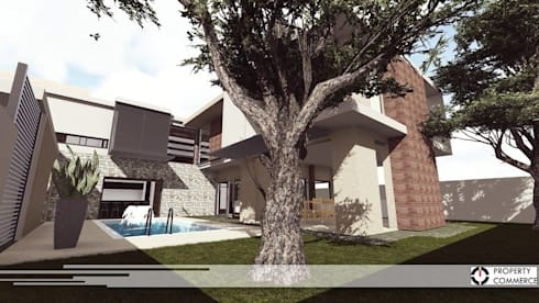 House Masienyana: modern Houses by Property Commerce Architects