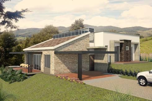 VIVIENDA SEBASTIANA: Casas de estilo clásico por G2 ESTUDIO