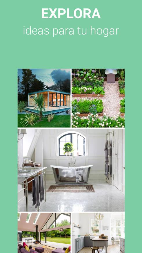 App Homify Peru: Casas de estilo clásico por Nicolas.Bello_Homify