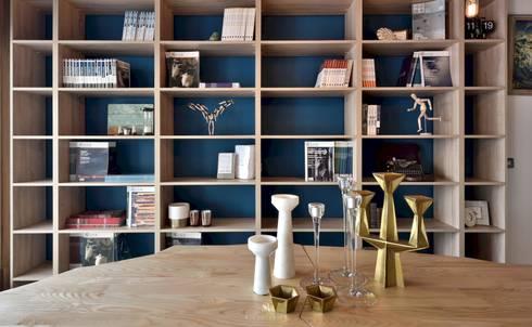 民間司法改革基金會台中辦公室|JRF, Taichung LO:  書房/辦公室 by 理絲室內設計有限公司 Ris Interior Design Co., Ltd.