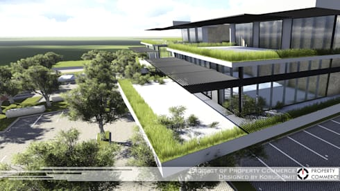 eCo Park:  Office buildings by Property Commerce Architects