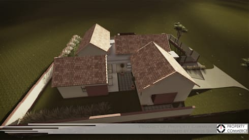 ​Prototype design 02: modern Houses by Property Commerce Architects