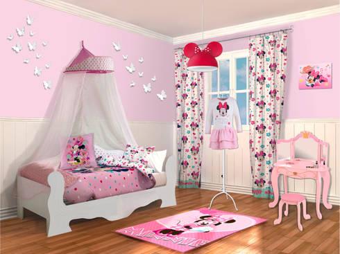 Dise o dormitorio infantil ni a minnie de lo quiero en mi Disenos de dormitorios para ninas