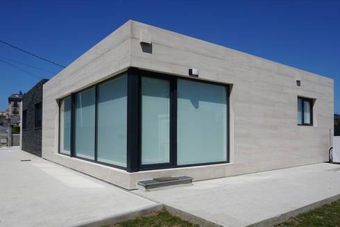 Casa cube 150 de casas cube homify - Casas prefabricadas cube ...