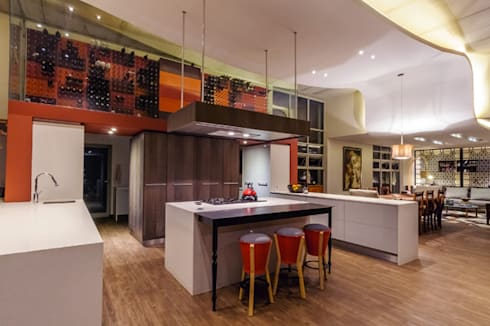 Southdowns: modern Kitchen by Full Circle Design