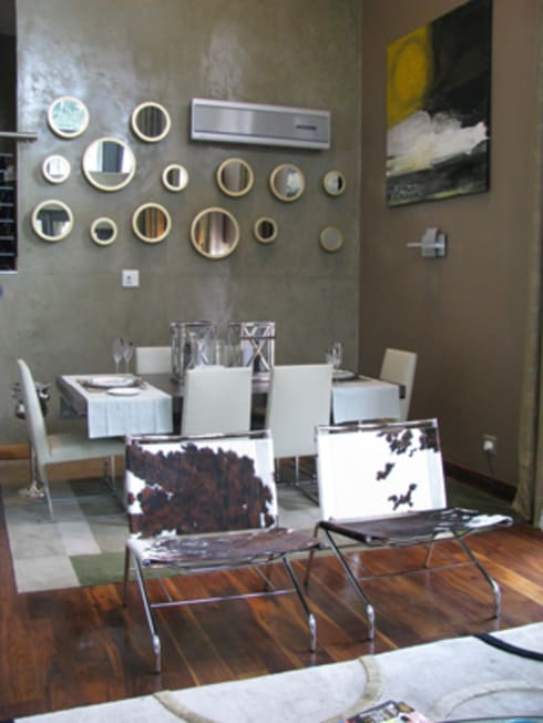 Icon @ Hydepark: modern Dining room by Full Circle Design