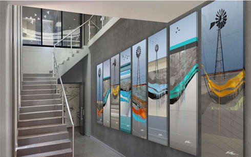 Aquatico:  Artwork by Full Circle Design