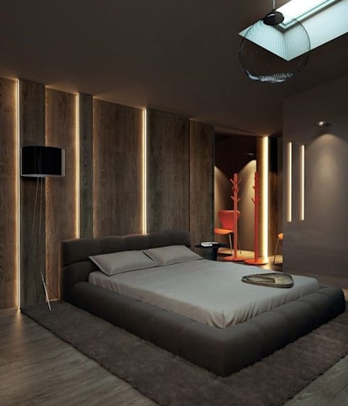 INTERIOR FLAT:  Bedroom by Archie-Core