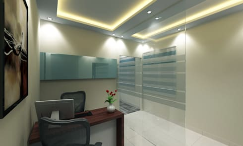 KAL informatics ltd Interior Design:   by Walls Asia Architects and Engineers