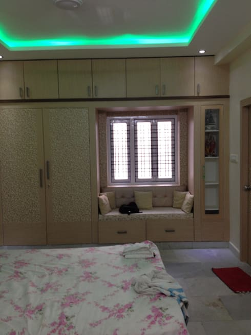 Mr.Harihara 's Interior Design  Work:   by Walls Asia Architects and Engineers
