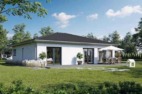 Bungalow modern bauen  Bungalow Modern von bauen.wiewir GmbH & Co KG | homify