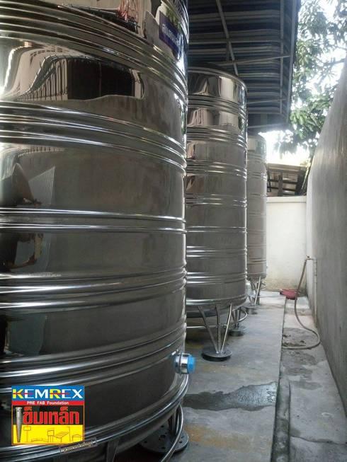 ฐานรากรองรับแทงค์น้ำขนาด1,800ลิตร คุณอัญวุฒิ:   by บริษัทเข็มเหล็ก จำกัด