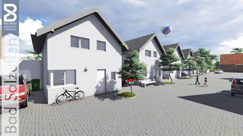 Architekt Bad Salzuflen neubau 6 einfamilienhäusern in schötmar in zentraler lage
