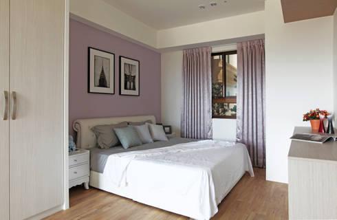 Queue:  臥室 by 築一國際室內裝修有限公司