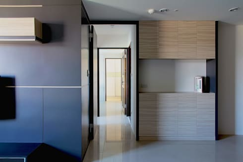 Vestige:  客廳 by 築一國際室內裝修有限公司