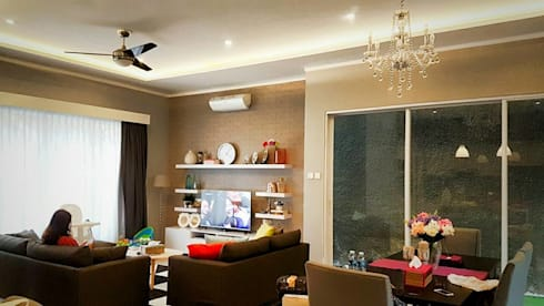Ruang Keluarga by Perfectio Architects