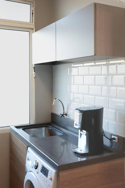 مطبخ تنفيذ Ambientta Arquitetura