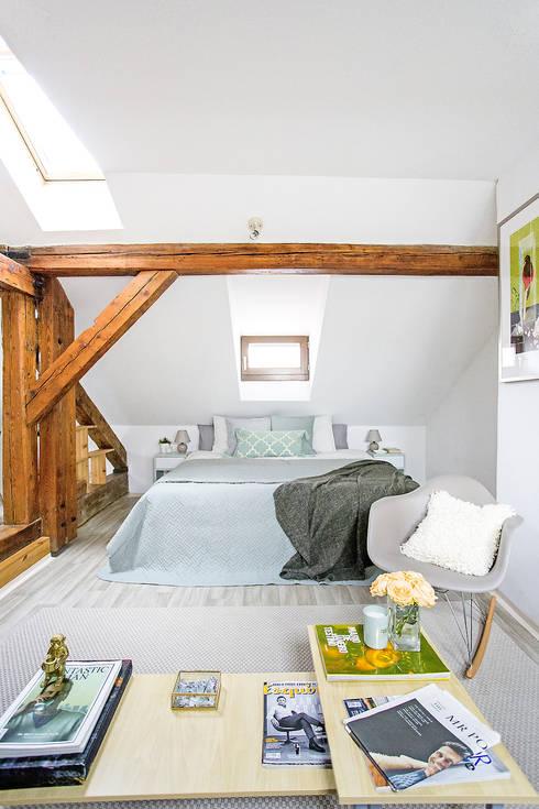 Projekty,  Sypialnia zaprojektowane przez Stag Pads International Ltd.