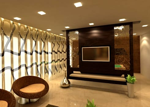 Interiors: classic Living room by Aanchal Arora Homify