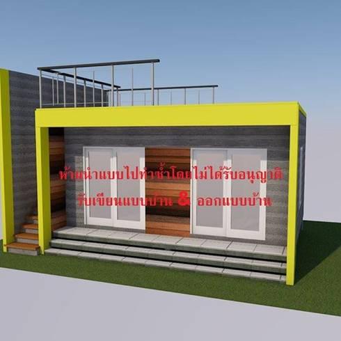 House Steel Sell 02:  บ้านและที่อยู่อาศัย by รับเขียนแบบบ้าน&ออกแบบบ้าน